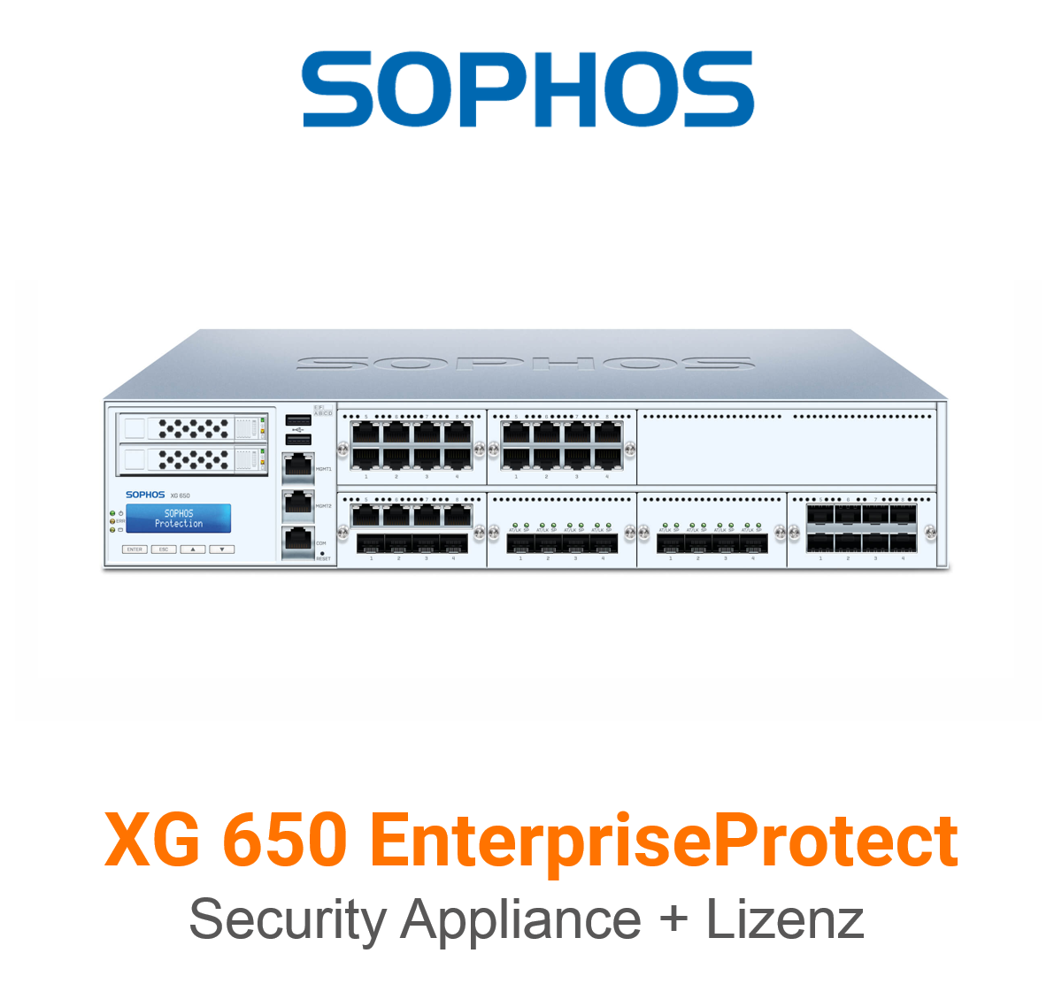 Sophos XG 650 EnterpriseProtect Bundle (Hardware + Lizenz)