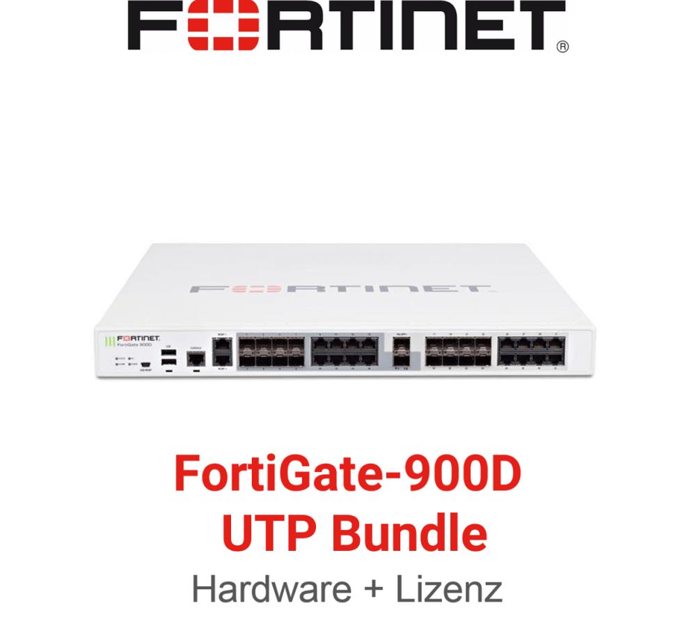 Fortinet FortiGate-900D - UTM/UTP Bundle (Hardware + Lizenz)
