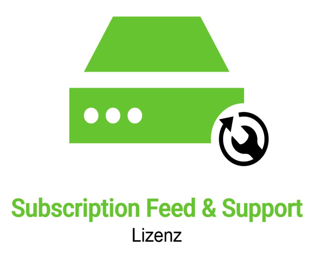 Greenbone GSM 400 Subscription Feeds und Support