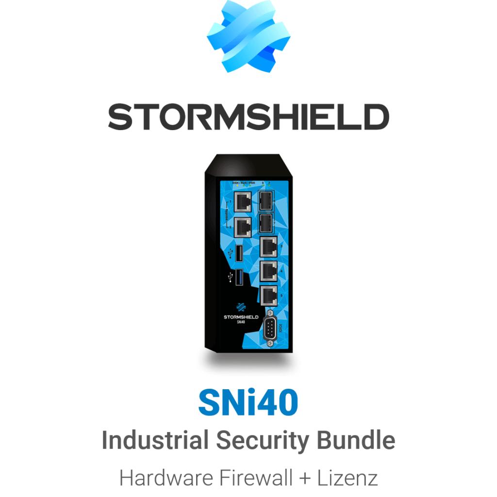 Stormshield SNi40 Industrial Security Bundle (Hardware + Lizenz)
