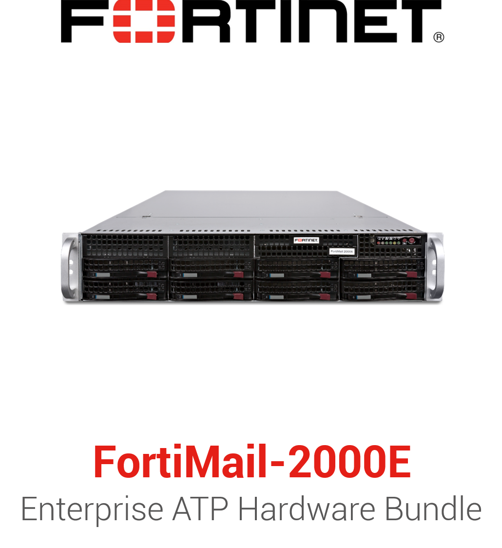 Fortinet FortiMail-2000E - Enterprise Bundle (Hardware + Lizenz)
