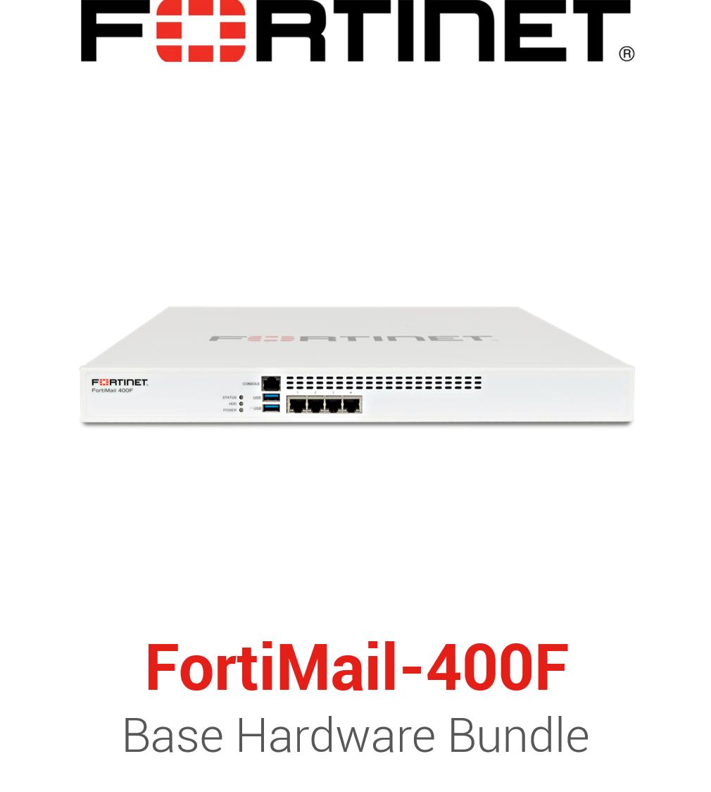 Fortinet FortiMail-400F - Base Bundle (Hardware + Lizenz)