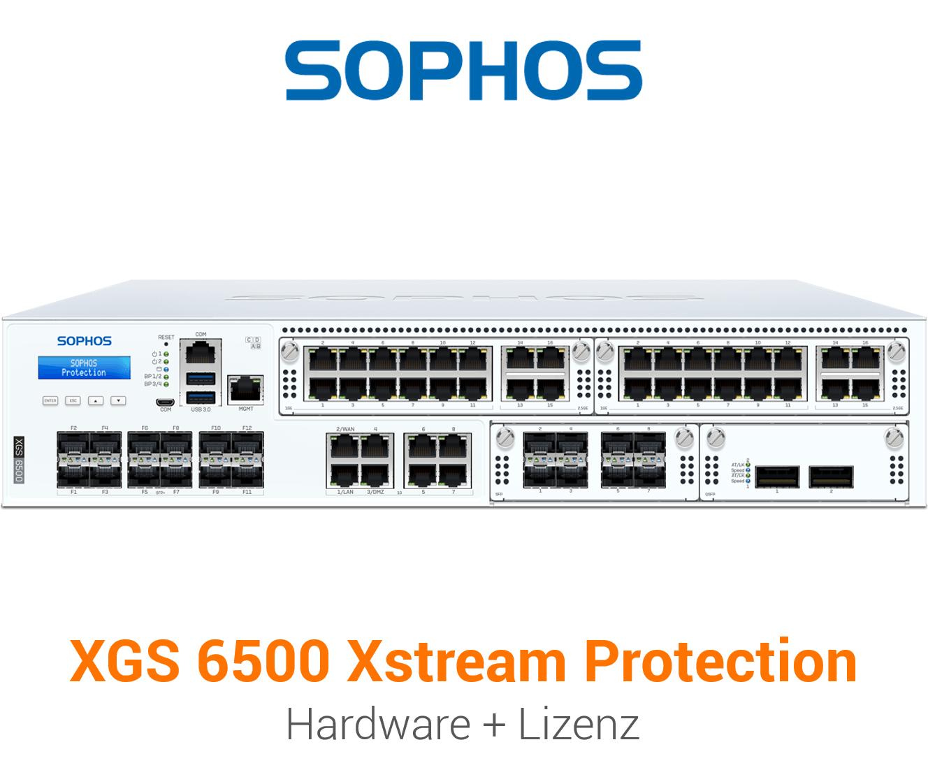 Sophos XGS 6500 mit Xstream Protection