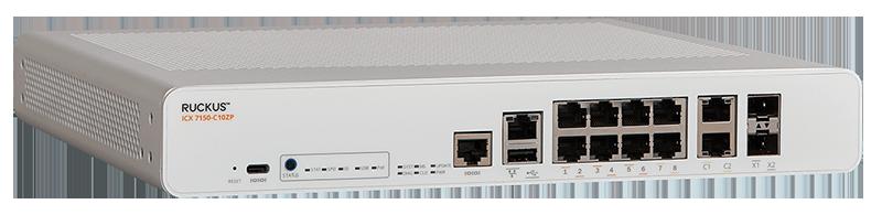 Ruckus ICX 7150-C10ZP Compact Switch