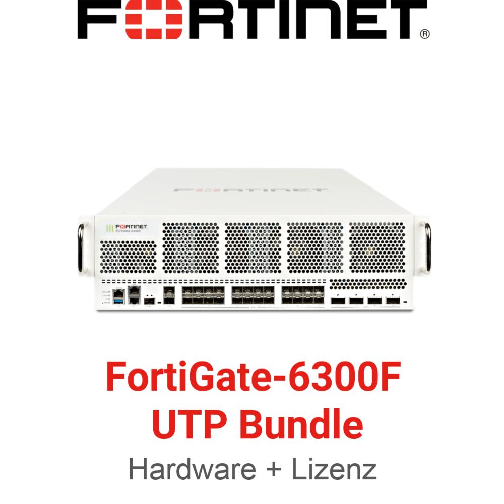 Fortinet FortiGate-6300F - UTM/UTP Bundle (Hardware + Lizenz)