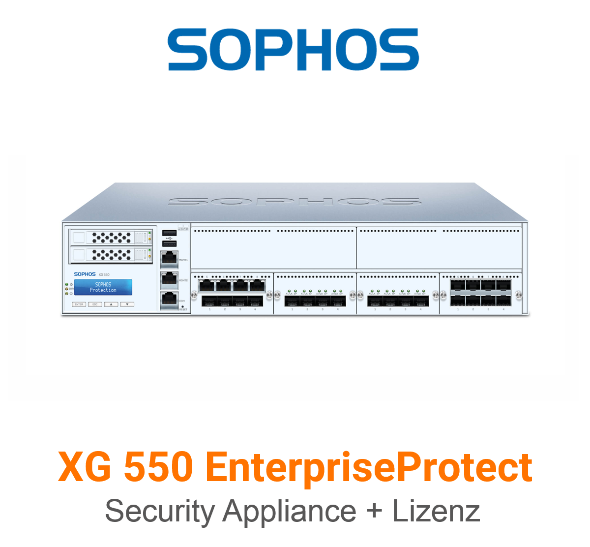 Sophos XG 550 EnterpriseProtect Bundle (Hardware + Lizenz)