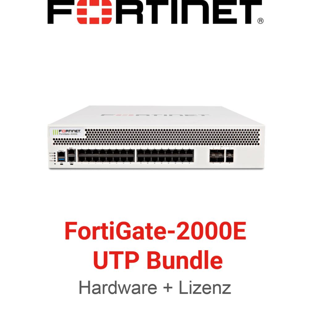 Fortinet FortiGate-2000E - UTM/UTP Bundle (Hardware + Lizenz)