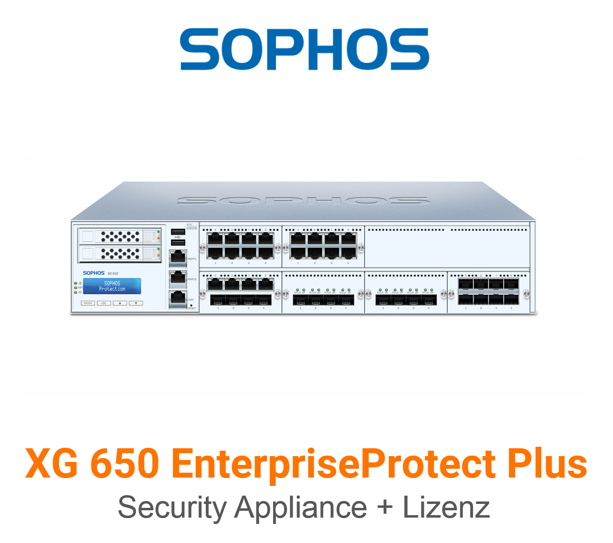 Sophos XG 650 EnterpriseProtect Plus Bundle (Hardware + Lizenz)