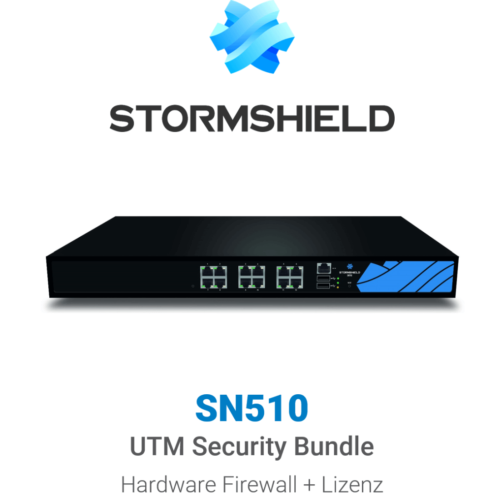 Stormshield SN 510 UTM Security Bundle (Hardware + Lizenz)