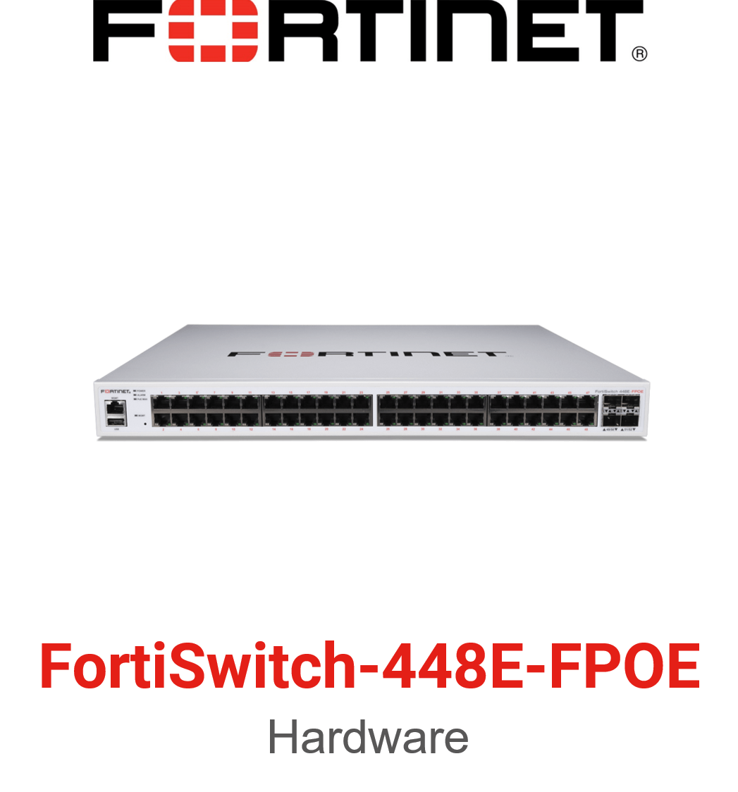 Fortinet FortiSwitch-448E-FPOE