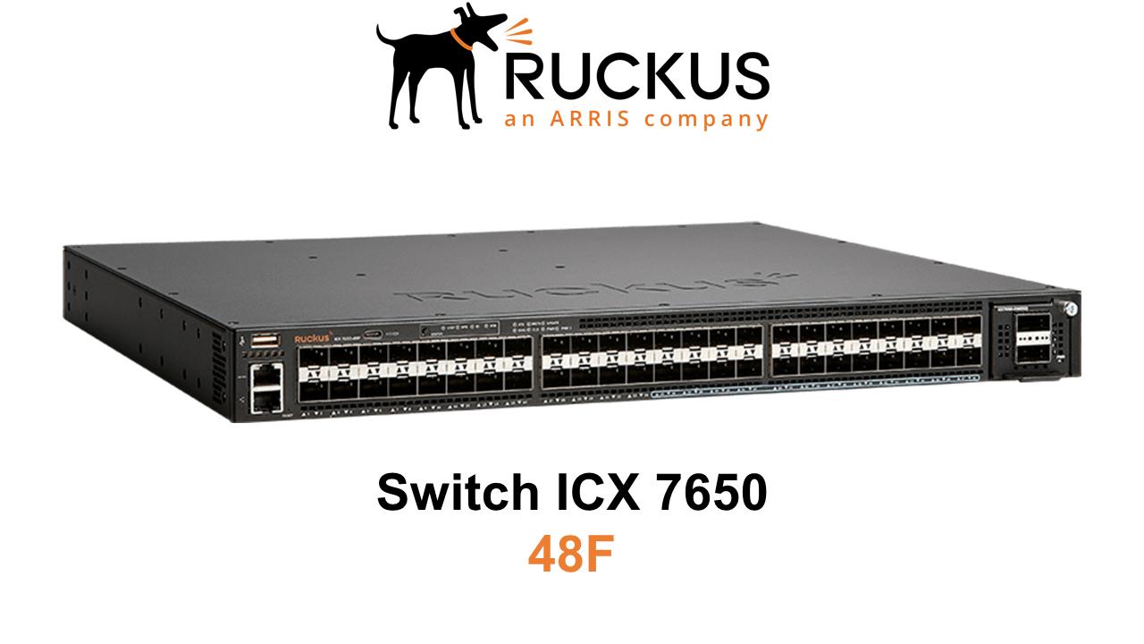 Ruckus ICX 7650-48F Switch