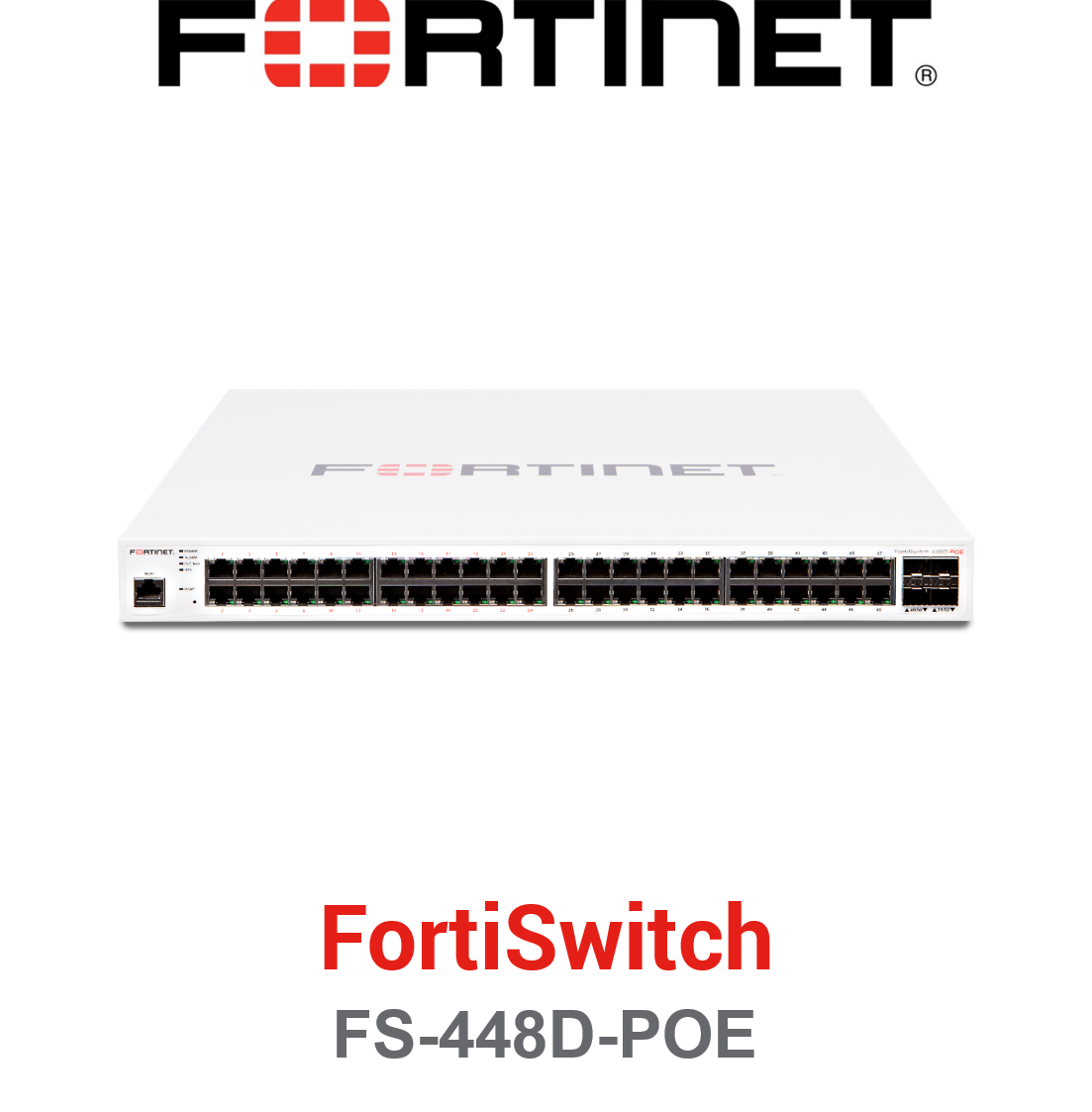 Fortinet FortiSwitch-448D-POE