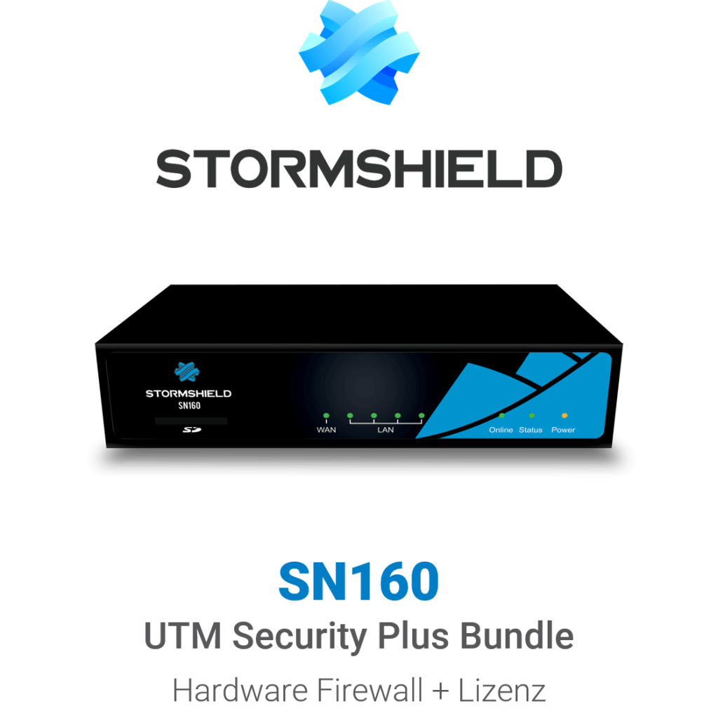 Stormshield SN 160 UTM Security Plus Bundle (Hardware + Lizenz)