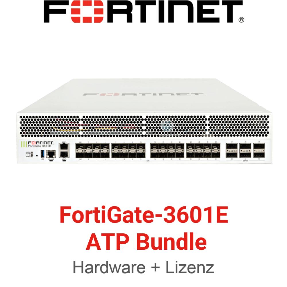 Fortinet FortiGate-3601E - ATP Bundle (Hardware + Lizenz)