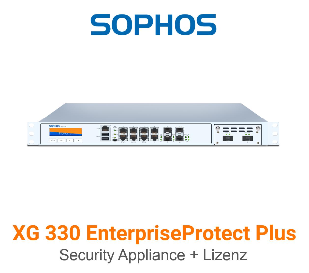 Sophos XG 330 EnterpriseProtect Plus Bundle (Hardware + Lizenz)