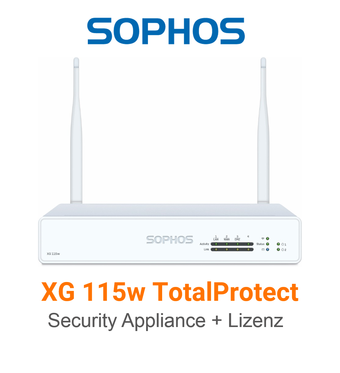 Sophos XG 115w TotalProtect Bundle (Hardware + Lizenz)