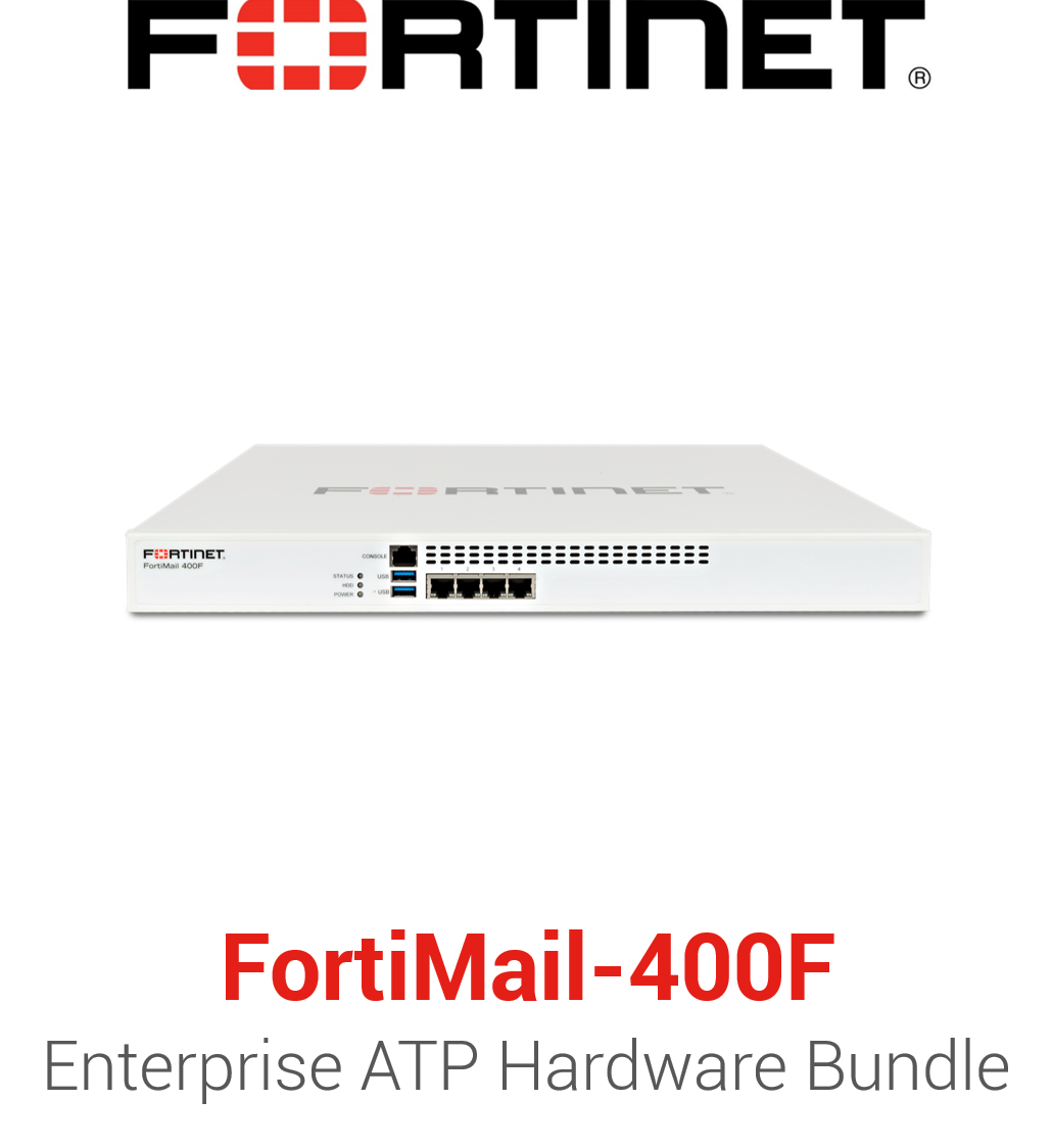 Fortinet FortiMail-400F - Enterprise Bundle (Hardware + Lizenz)