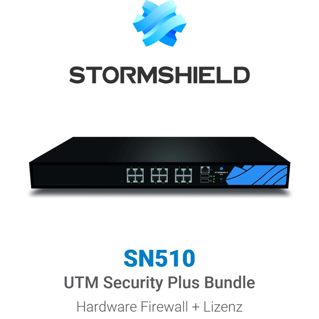 Stormshield SN 510 UTM Security Plus Bundle (Hardware + Lizenz)