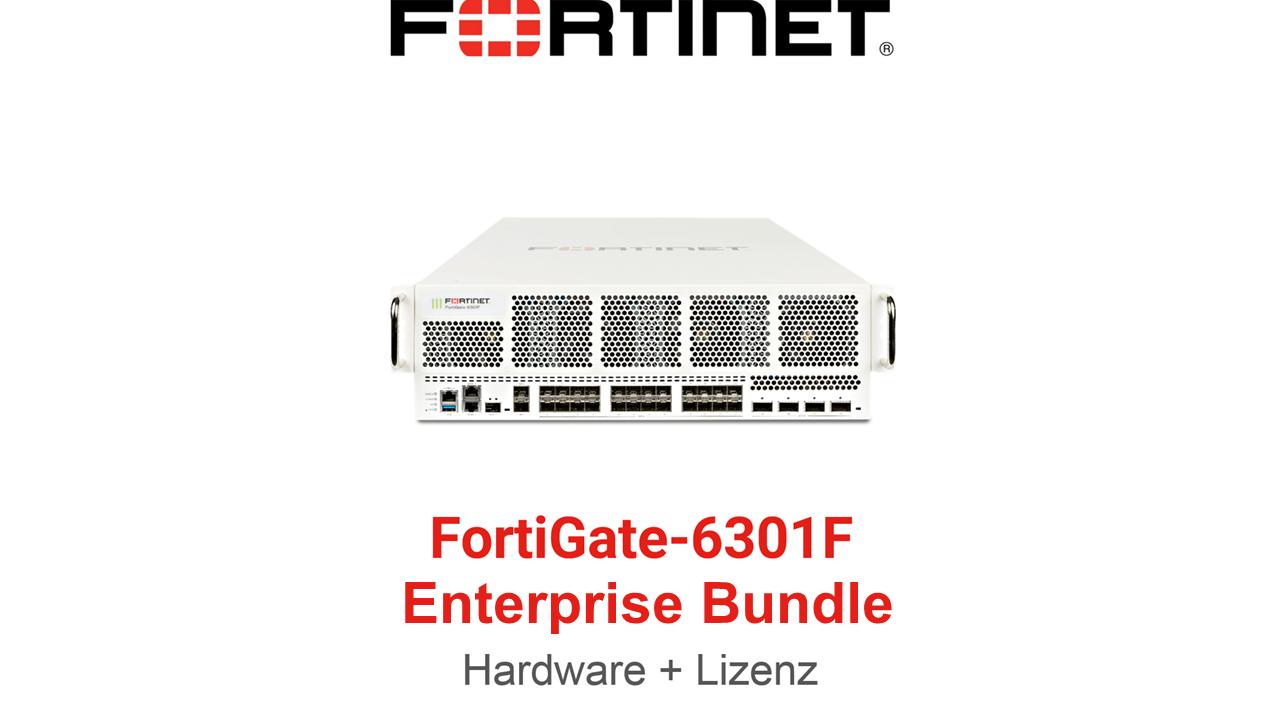 Fortinet FortiGate-6301F - Enterprise Bundle (Hardware + Lizenz)