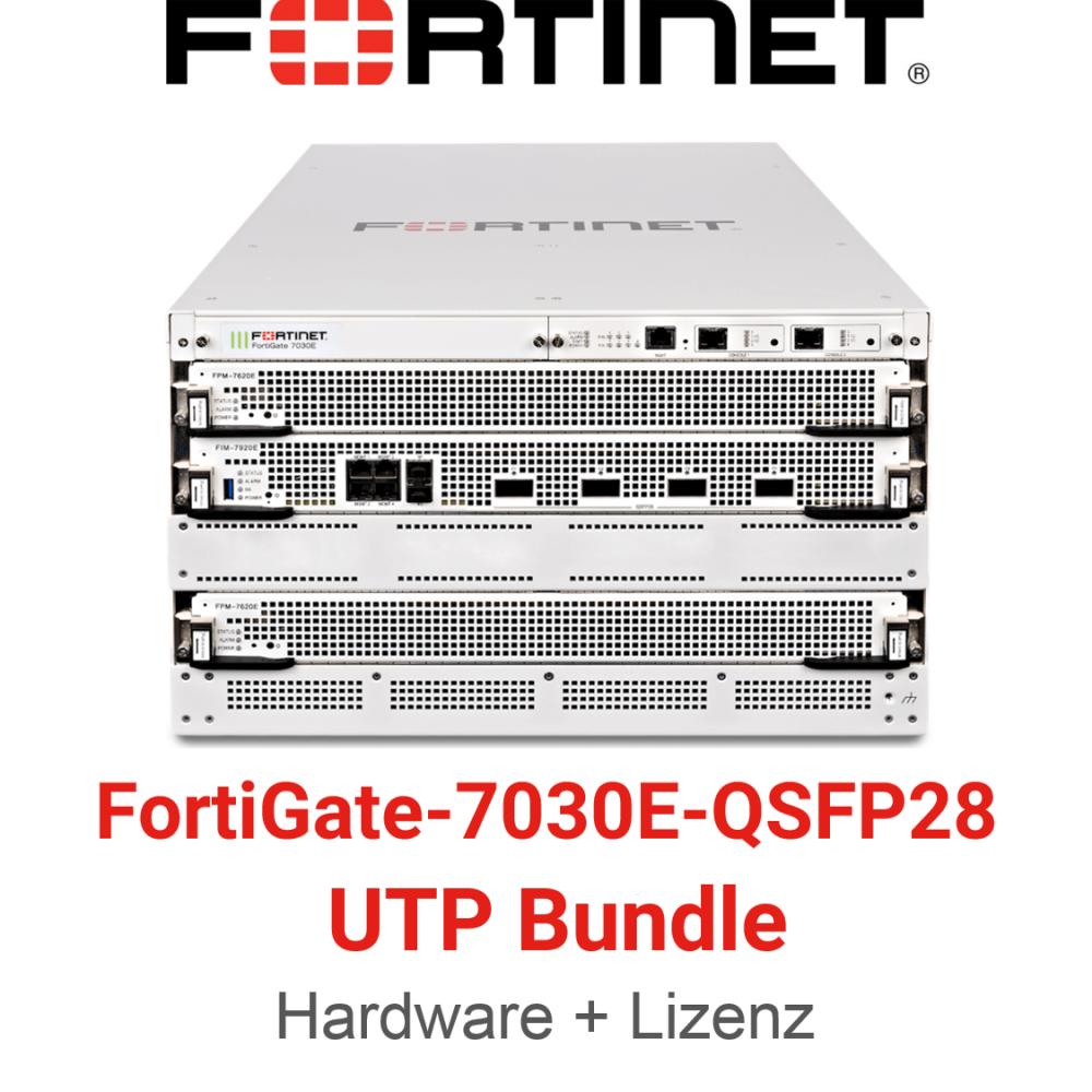 Fortinet FortiGate-7030E-QSFP28 - UTM/UTP Bundle (Hardware + Lizenz)