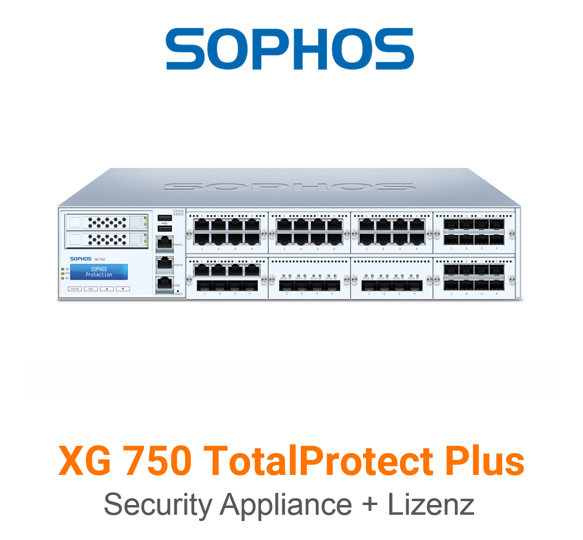 Sophos XG 750 TotalProtect Plus Bundle (Hardware + Lizenz)