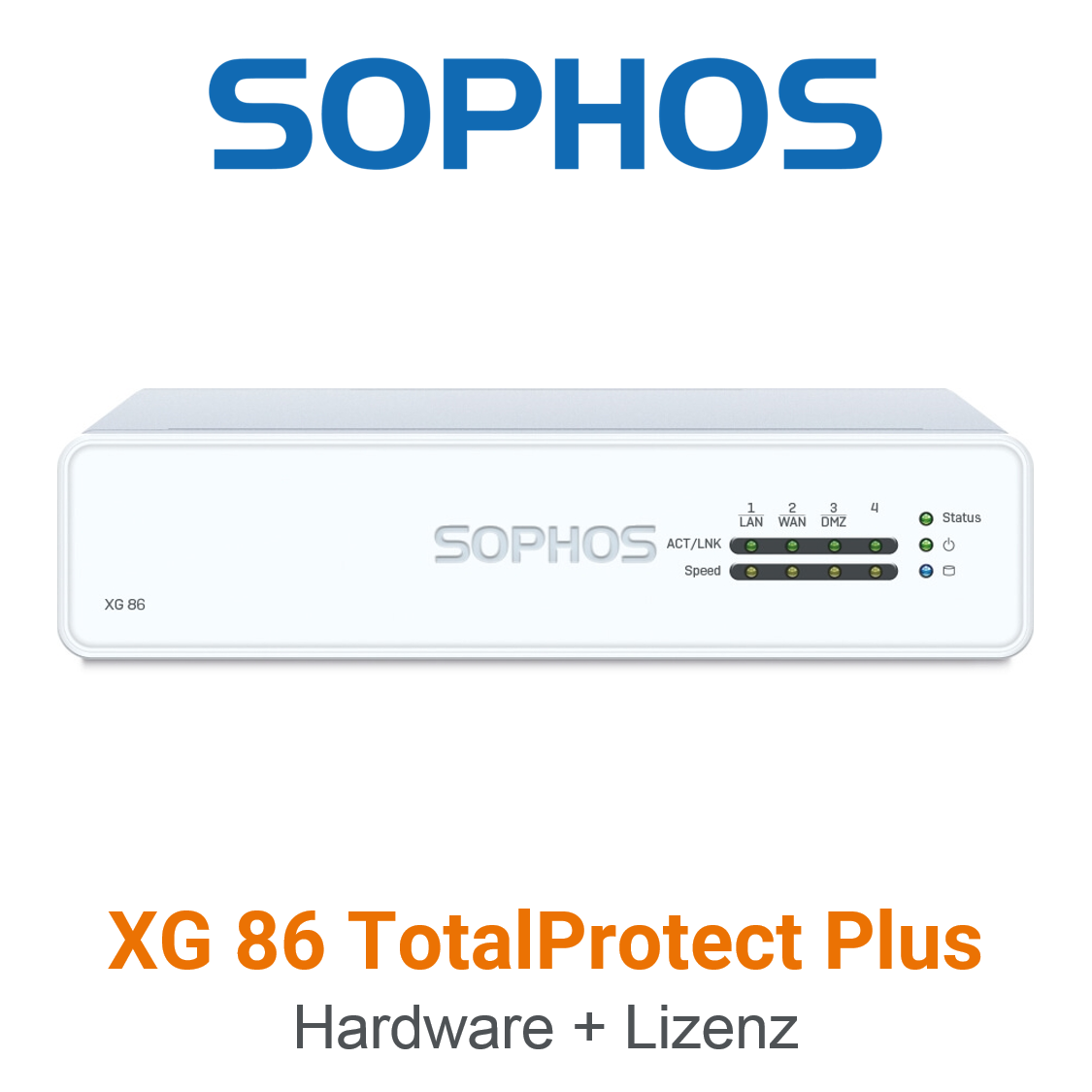 Sophos XG 86 TotalProtect Plus Bundle (Hardware + Lizenz)