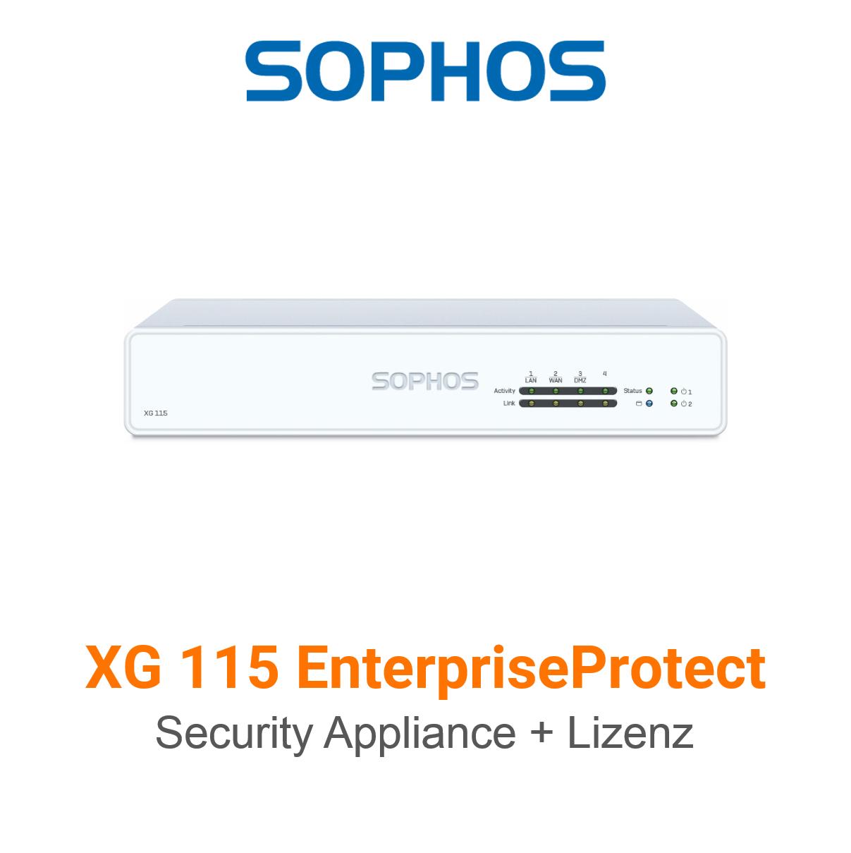 Sophos XG 115 EnterpriseProtect Bundle (Hardware + Lizenz)