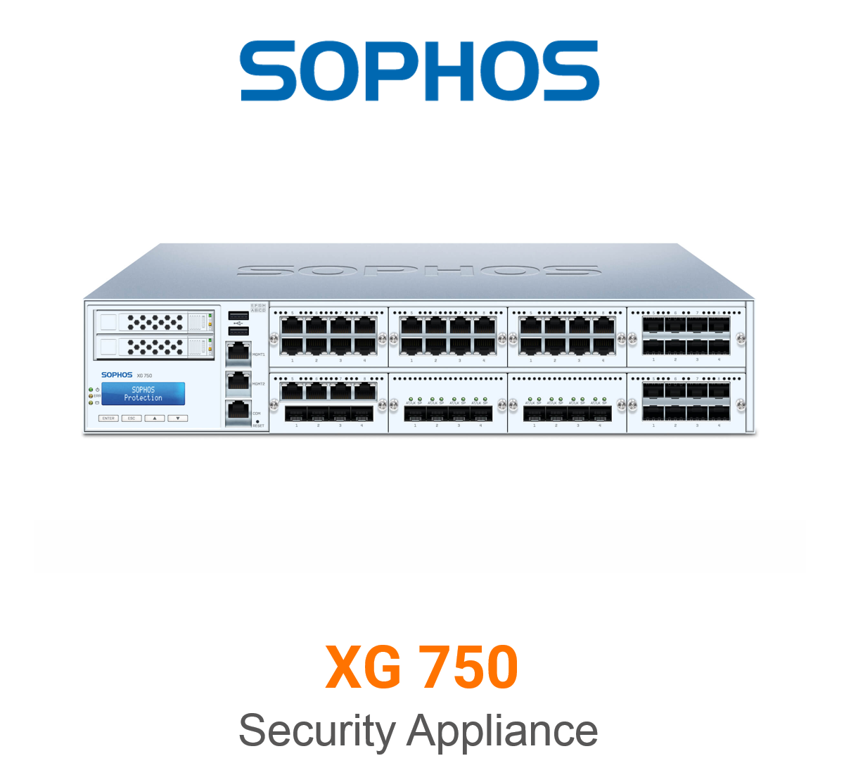 Sophos XG 750 Security Appliance