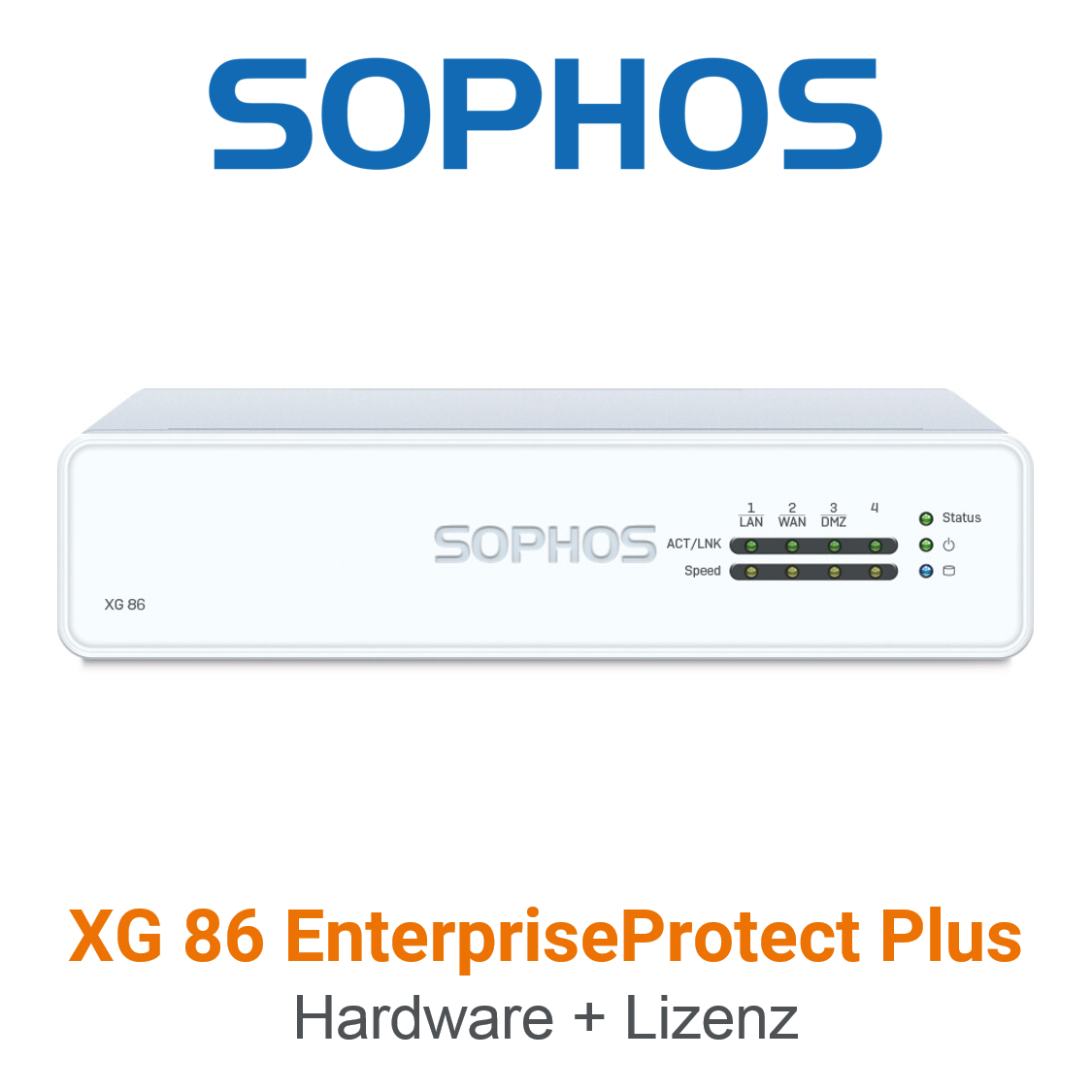 Sophos XG 86 EnterpriseProtect Plus Bundle (Hardware + Lizenz)