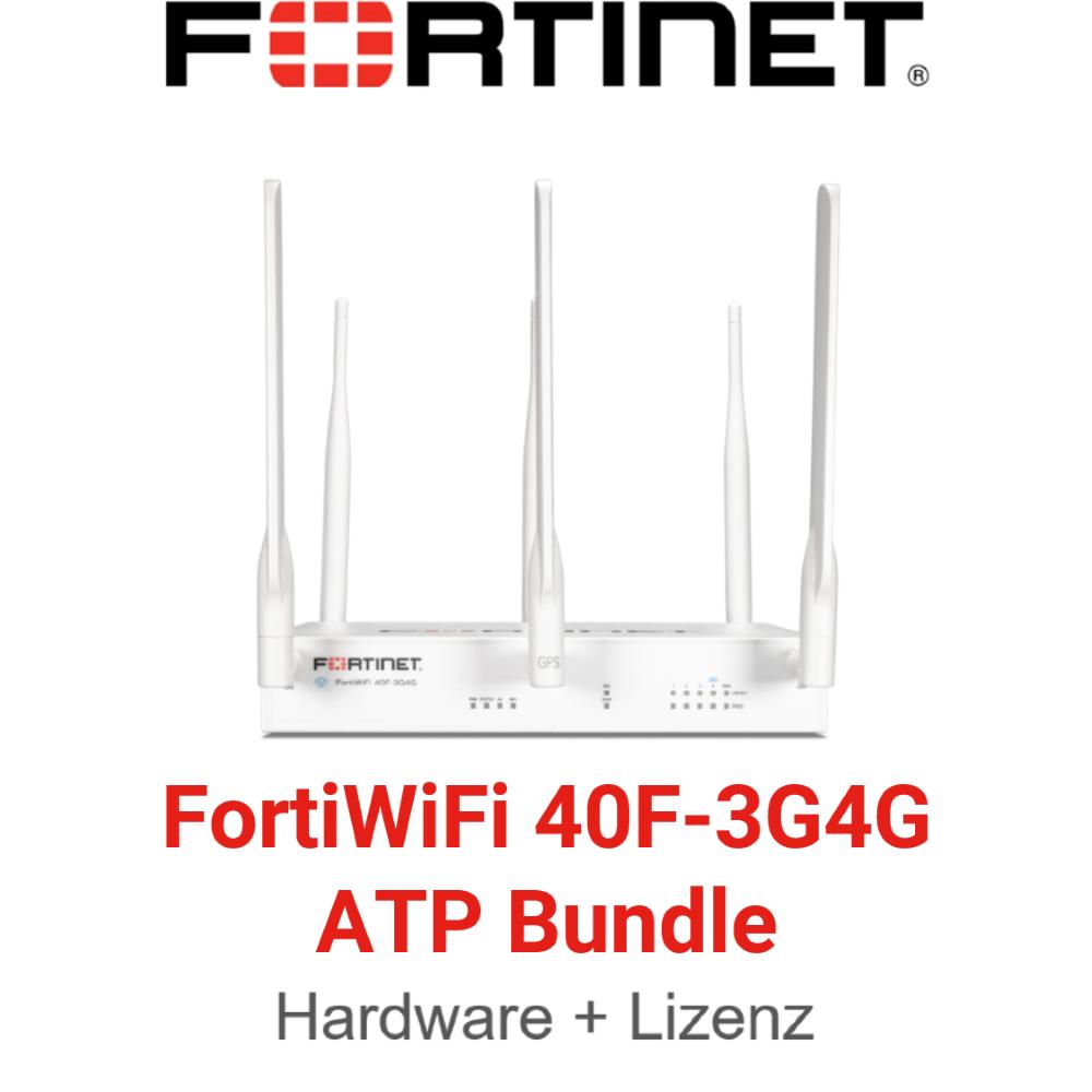 Fortinet FortiWiFi-40F-3G4G - ATP Bundle (Hardware + Lizenz)