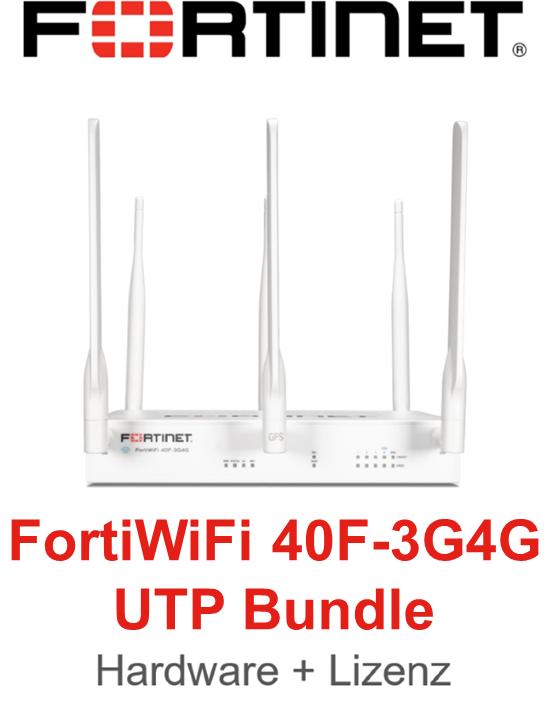 Fortinet FortiWifi-40F-3G4G - UTM/UTP Bundle (Hardware + Lizenz)