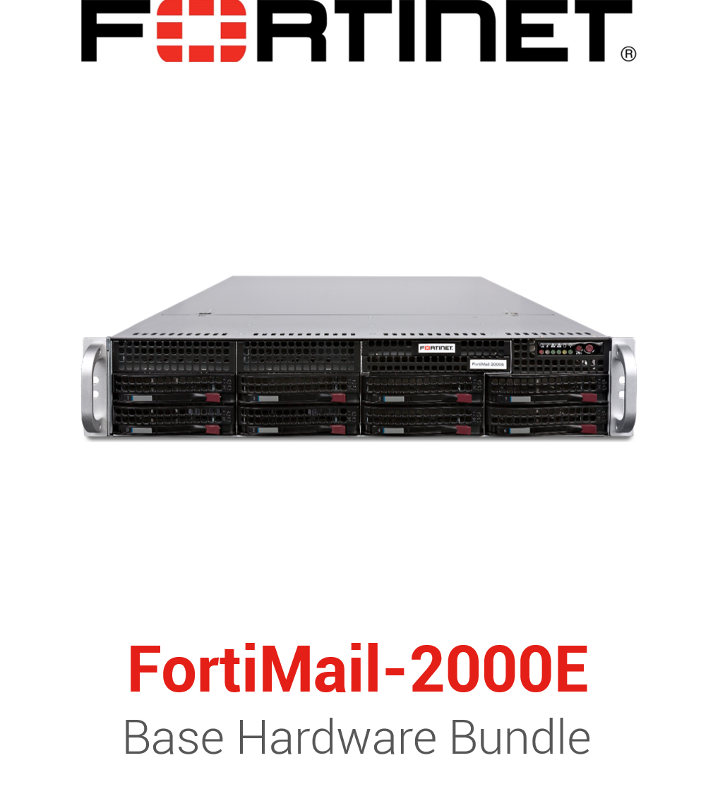 Fortinet FortiMail-2000E - Base Bundle (Hardware + Lizenz)