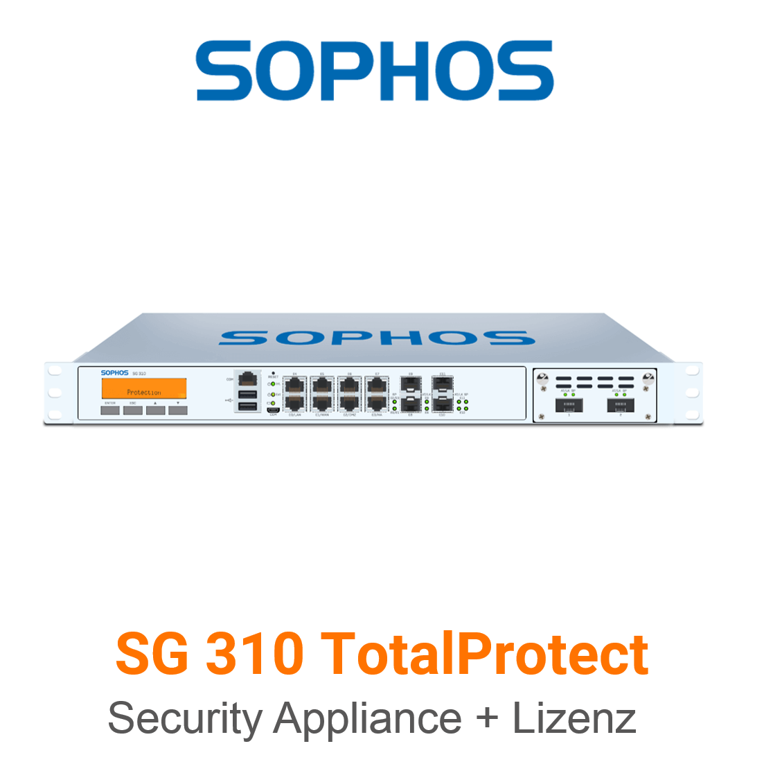 Sophos SG 310 TotalProtect Bundle (Hardware + Lizenz)