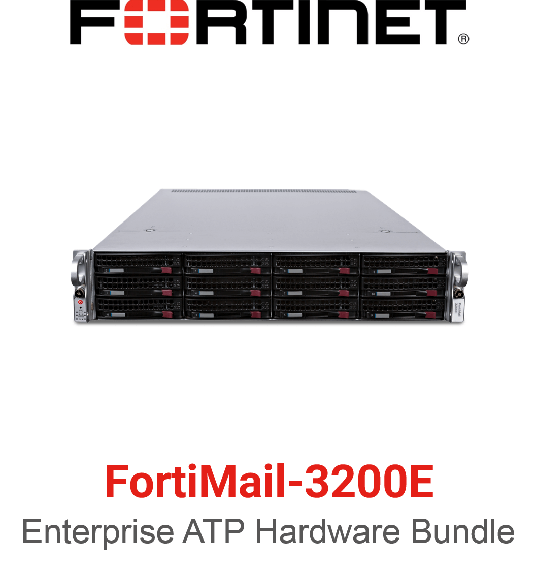 Fortinet FortiMail-3200E - Enterprise Bundle (Hardware + Lizenz)