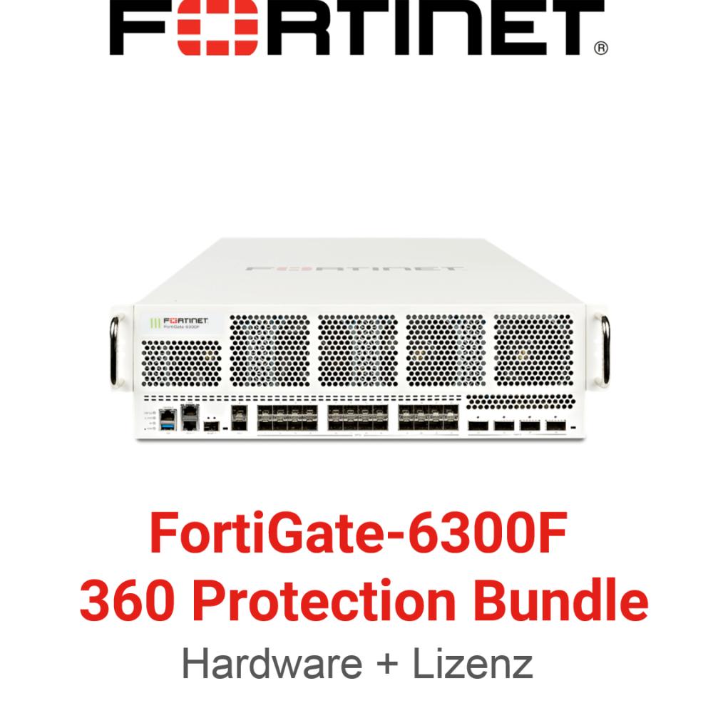 Fortinet FortiGate-6300F - 360 Bundle (Hardware + Lizenz)