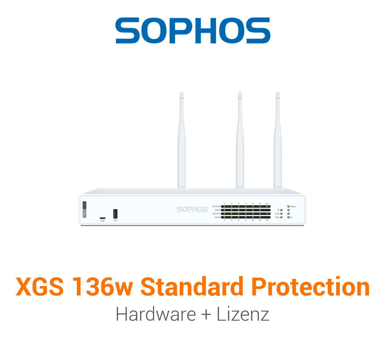 Sophos XGS 136w mit Standard Protection