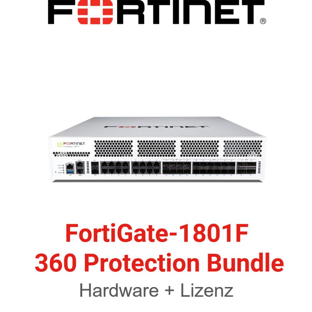 Fortinet FortiGate-1801F - 360 Bundle (Hardware + Lizenz)