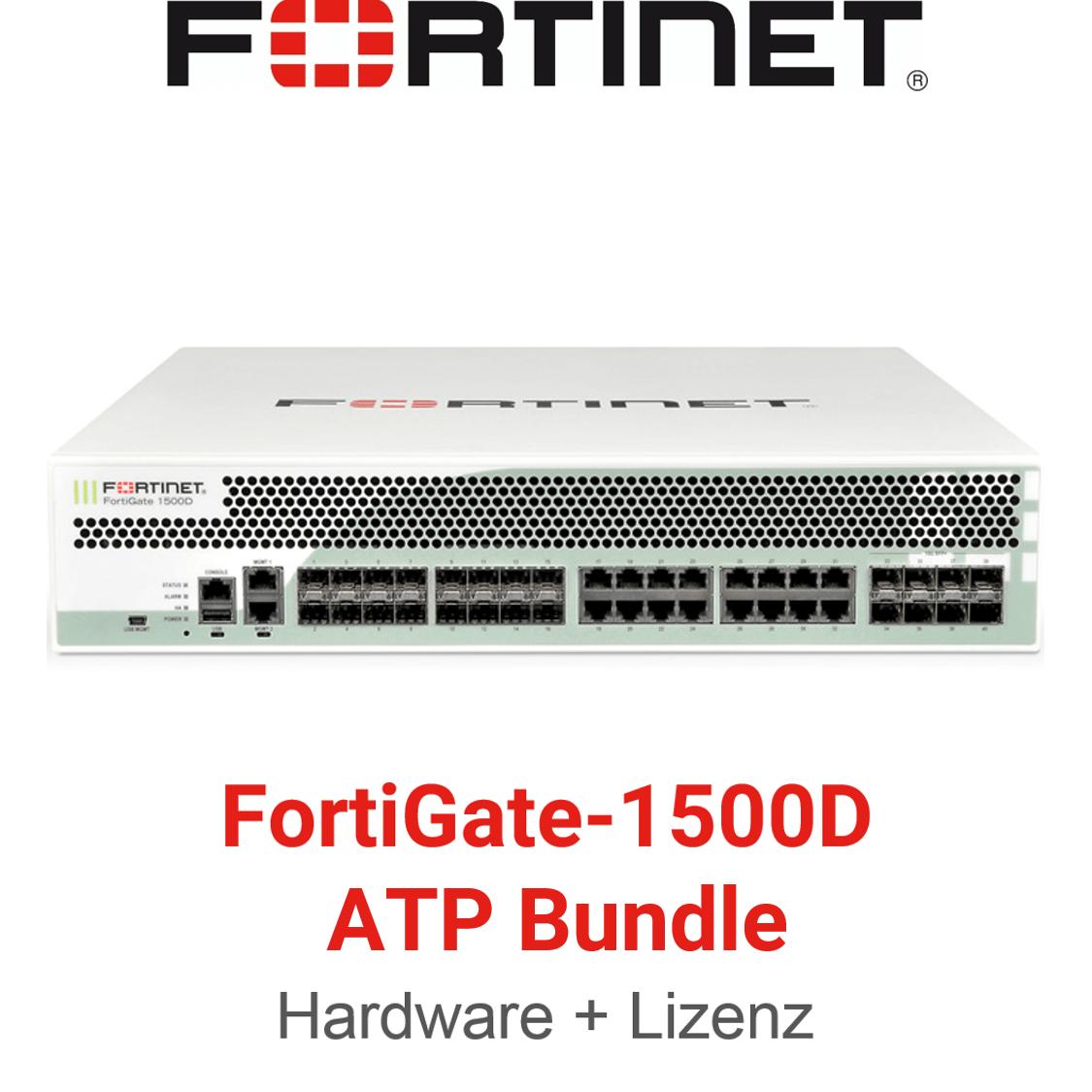 Fortinet FortiGate-1500D - ATP Bundle (Hardware + Lizenz)
