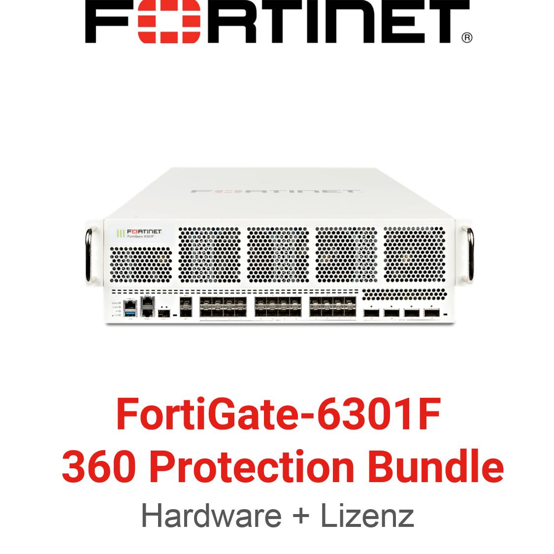 Fortinet FortiGate-6301F - 360 Bundle (Hardware + Lizenz)