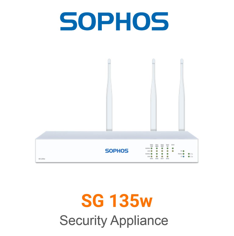 Sophos SG 135w Securiy Appliance