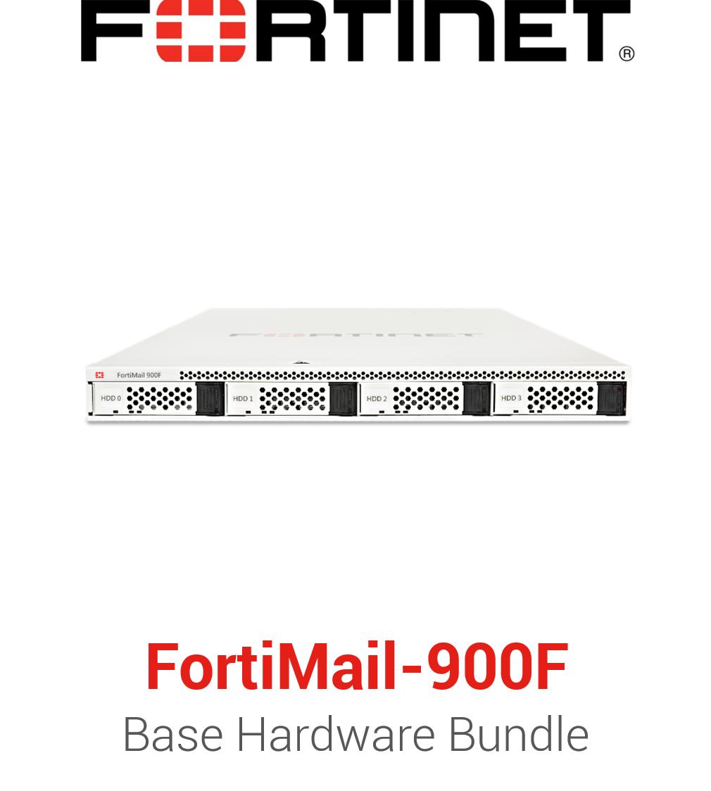 Fortinet FortiMail-900F - Base Bundle (Hardware + Lizenz)