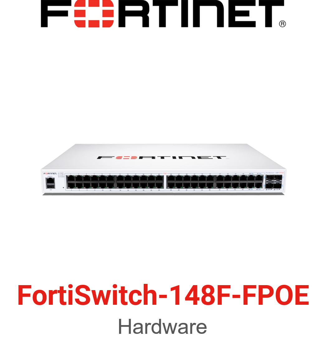 Fortinet FortiSwitch-148F-FPOE