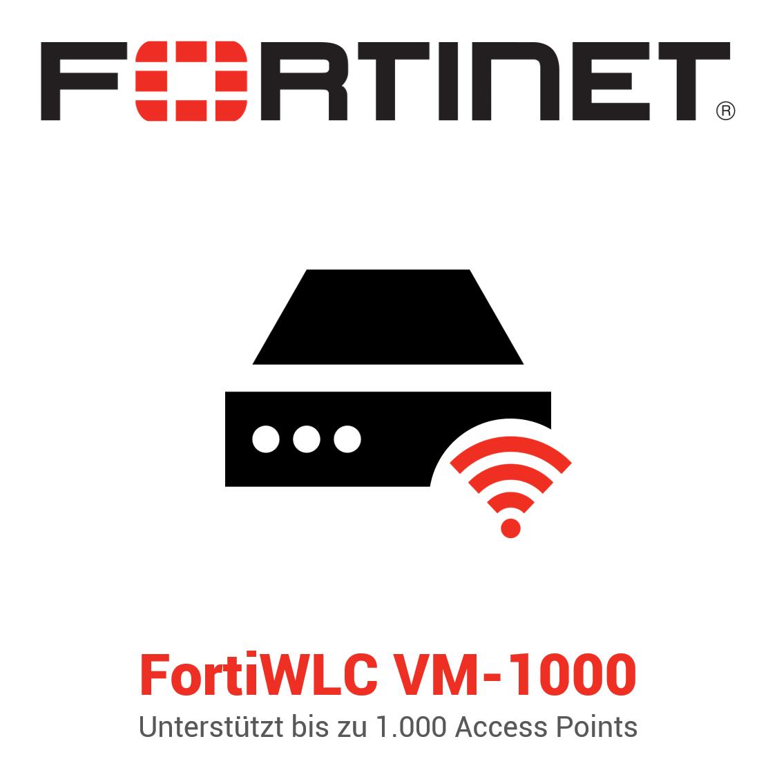 Fortinet FortiWLC-VM-1000