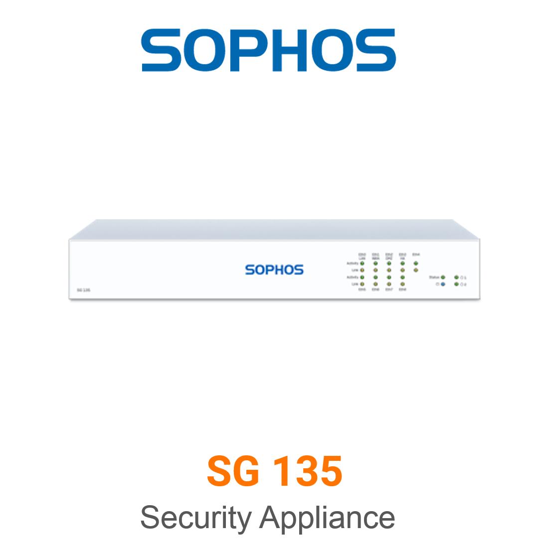 Sophos SG 135 Securiy Appliance