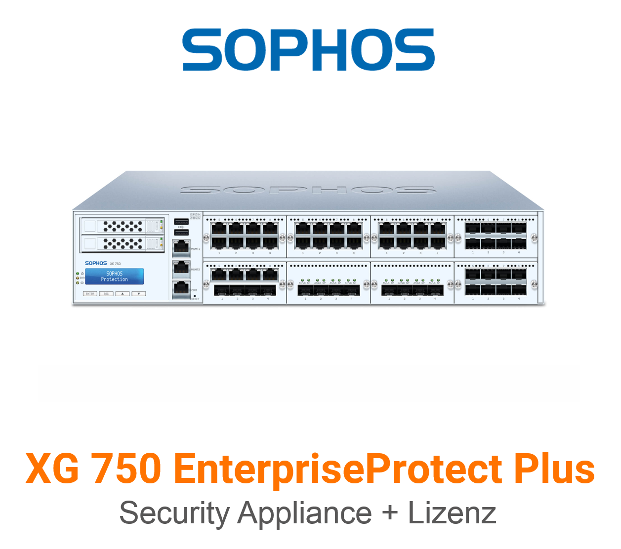 Sophos XG 750 EnterpriseProtect Plus Bundle (Hardware + Lizenz)