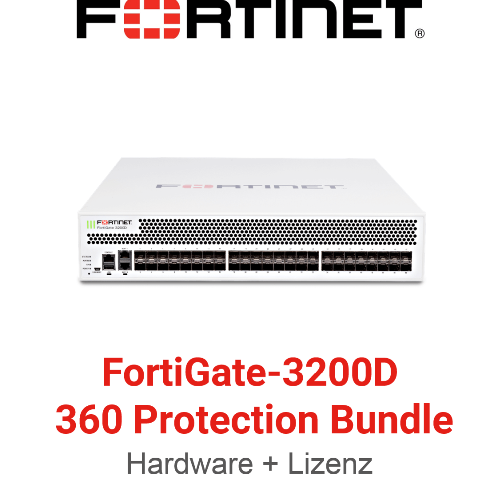 Fortinet FortiGate-3200D - 360 Bundle (Hardware + Lizenz)