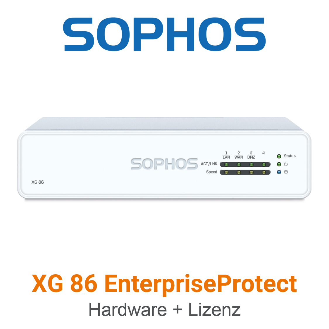 Sophos XG 86 EnterpriseProtect Bundle (Hardware + Lizenz)