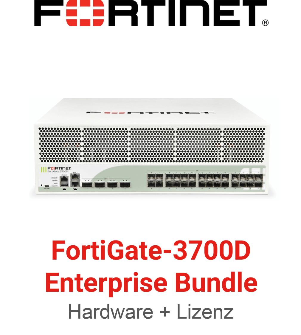 Fortinet FortiGate-3700D - Enterprise Bundle (Hardware + Lizenz)