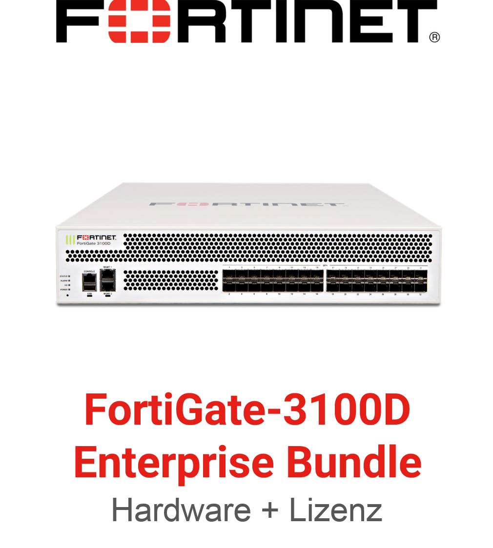 Fortinet FortiGate FG-3100D - Enterprise Bundle (Hardware + Lizenz)