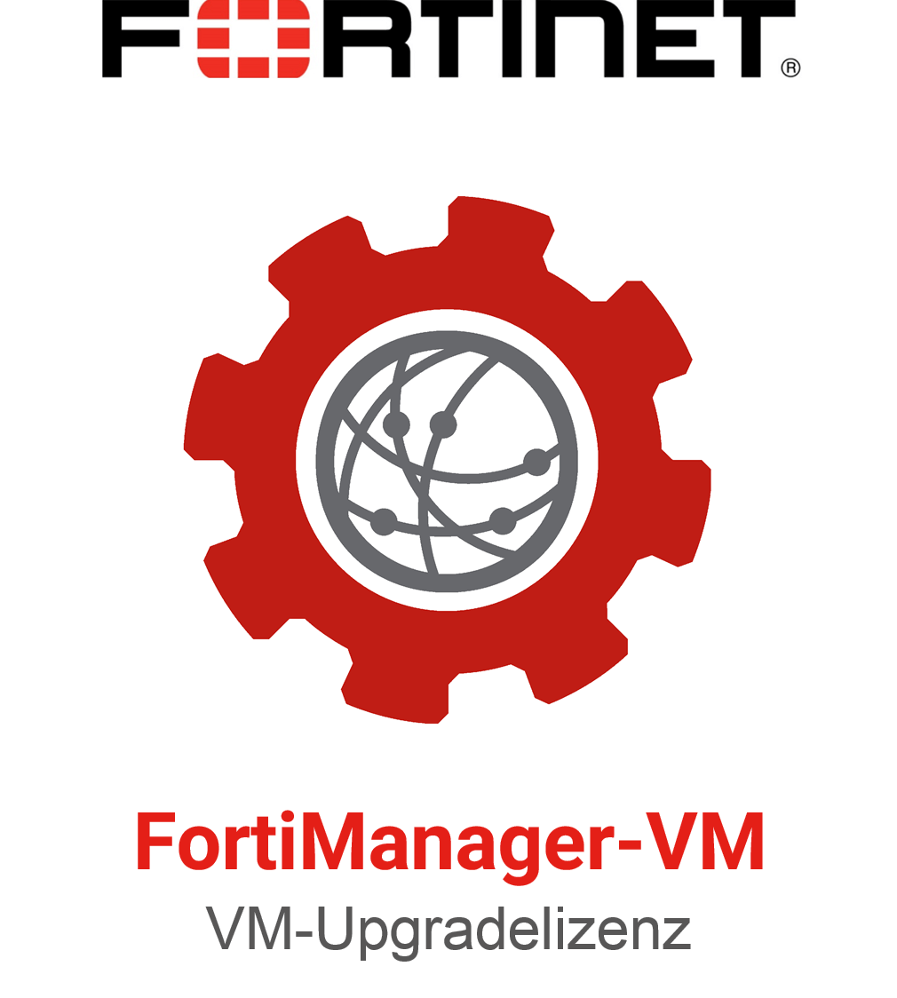 Fortinet FortiManager-VM Upgrade Lizenz um 10 Devices, 200GB Storage